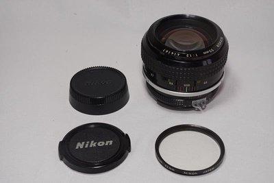 夜之眼 Nikon NIKKOR 55mm F1.2 原生Ai