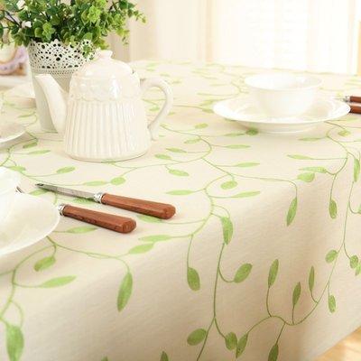 茶几桌布 繡花桌布布藝棉麻歐式田園長方形餐桌茶几布書桌蓋巾台布定制