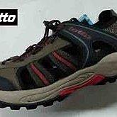 北台灣大聯盟 義大利第一品牌-LOTTO 男款水陸悍將6大機能戶外排水護趾運動涼鞋 3113-咖啡 超低直購價498元