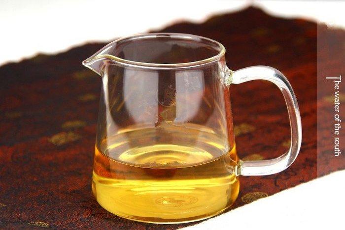 【自在坊】茶具 茶海 超大號耐熱玻璃公道杯 品茶 加厚功夫分茶器 400ml
