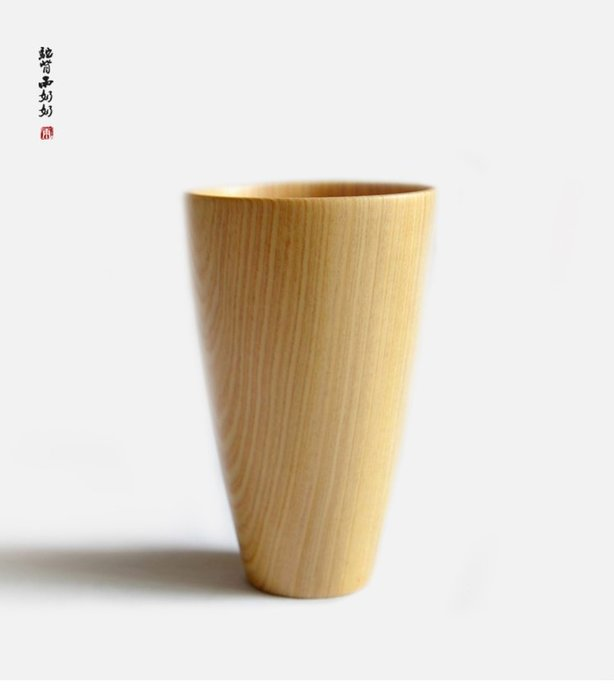 日式和風環保實木隨手杯木杯子 隔熱防燙水杯 創意情侶杯 茶杯 咖啡杯 花茶杯 茶杯 現貨
