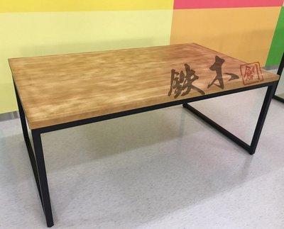 【鐵木創】松木桌 實木桌 營業用 厚實松木 訂製  客製 餐桌  餐桌 營業用 桌椅