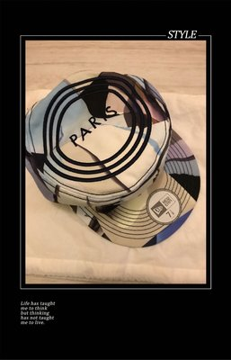 Kenzo newera 藍色聯名款帽
