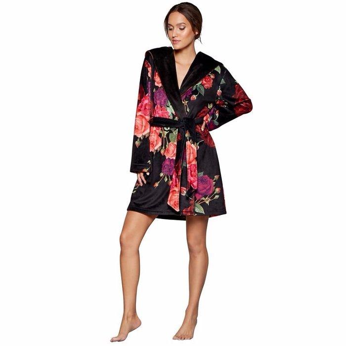 香港OUTLET代購 歐美品牌浴袍 睡袍 高級絲絨睡袍 居家睡衣 居家服 睡衣 女睡袍