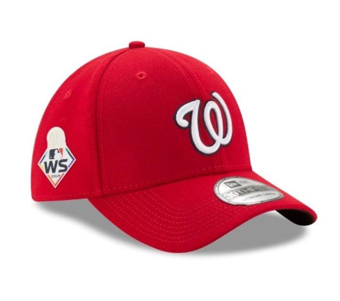 《FOS》New Era WASHINGTON NATIONALS 華盛頓國民 世界大賽 棒球帽 美國職棒大聯盟