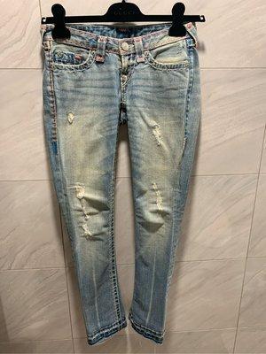 美國知名品牌TRUE RELIGION 經典牛仔褲 原價2萬初 甜甜分享價3980