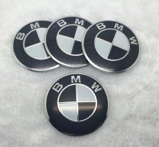 BMW 鋁圈中心蓋貼紙 標誌 貼標65MM E28 E30 E34 E36 E38 E39 E46 E53 E60 桃園市
