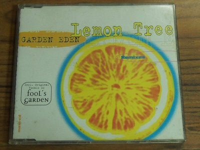 MWM◎【二手CD】缺損僅供收藏  Garden Eden- Lemon Tree 無ifpi, 有刮痕會跳針