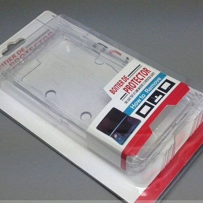 3DS100 特惠價59$ 舊版3DS 透明水晶保護殼 水晶殼 保護殼 OLD 小3DS