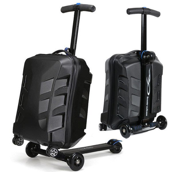 2017升級版變形金剛滑板車兩用隨身旅行箱