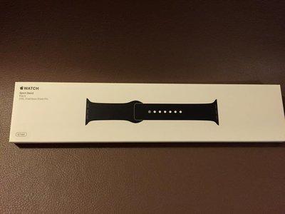 ^_^東京直遞 apple watch 38mm黑色運動錶帶
