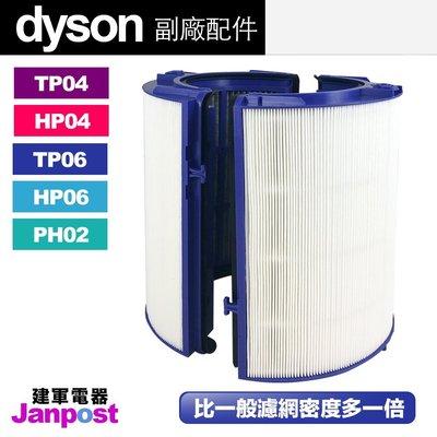 Dyson 戴森 超高密度 副廠濾網 HP06 TP06 (04可用) 空氣清淨機 HEPA 活性碳 二合一 複合 濾網