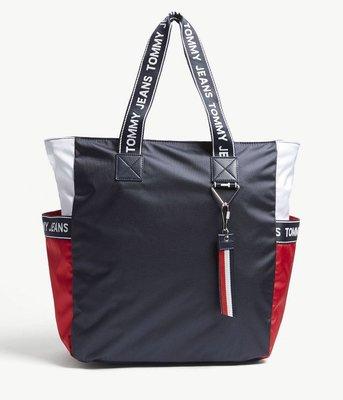 (預購)TOMMY HILFIGER Jeans 有型側背包  logo-detailed tote bag