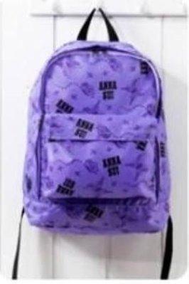 ANNA  SUI 粉紫時尚後背包(最後出清)直購299元~下標及售喔!