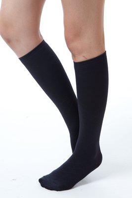 (F03) Youleg樂迅 280D 彈性小腿襪(中統襪) - 黑色