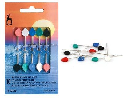 ☆彩暄手工坊☆史丹巴克Knitters Marking Pins 固定針 ~ 手工藝材料、進口毛線、編織書、編織工具~