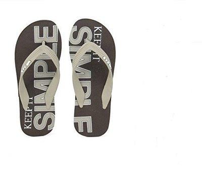 義大利牛仔精品GAS 夏季必備男士人字拖鞋 (藍/灰) 涼夏特價一雙$390 兩雙700