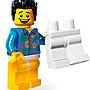 【荳荳小舖】LEGO樂高minifigures人物系列-樂高電影系列-No.13 脫褲男 含運160下標即售