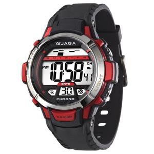 JAGA捷卡冷光電子錶【↘破盤價399】M1048上班族 學生錶 小朋友錶 運動游泳錶 生日禮物附錶盒 多彩 附保固卡