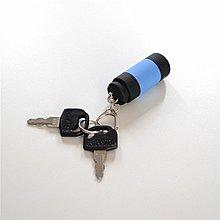 [特惠免運]小手電筒USB充電強光微型便攜家用LED鑰匙燈戶外袖珍黃光兒童迷你—《MONA》