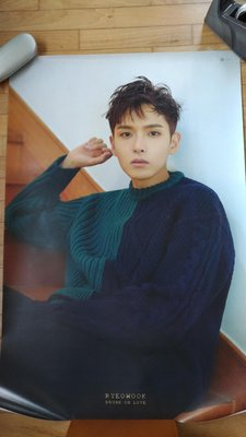 厲旭 Ryeo Wook-Super Junior Drunk for you 限量海報