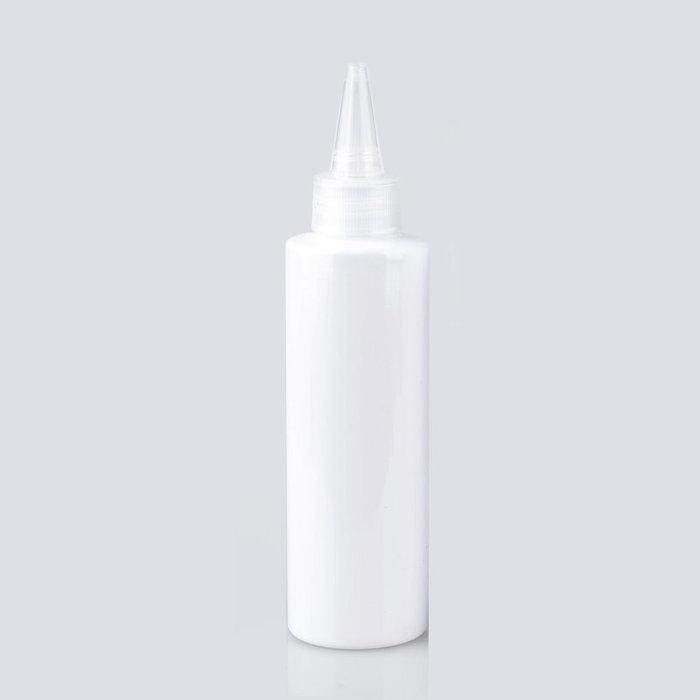 戀物星球 150ml平肩pet塑料電發水尖嘴蓋乳液瓶美妝彩妝工具