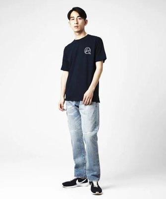 全新正品 DENIM BY VANQUISH&FRAGMENT WASHED REMAKE WIDE DENIM PANTS牛仔褲(Mona)