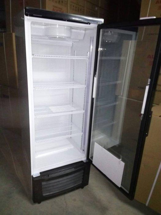桃園國際二手貨中心----全新 單門冷藏櫃  單門玻璃展示冰箱  單門冷藏玻璃冰箱 110v
