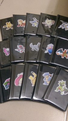 神奇寶貝 tretta 寶可夢 攜帶方便 收藏冊卡夾收集冊可12張卡四星 黑卡 卡匣 自黏卡套 保護套
