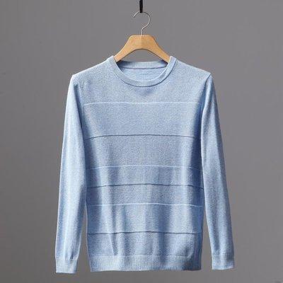 秋裝圓領休閒針織衫毛衣