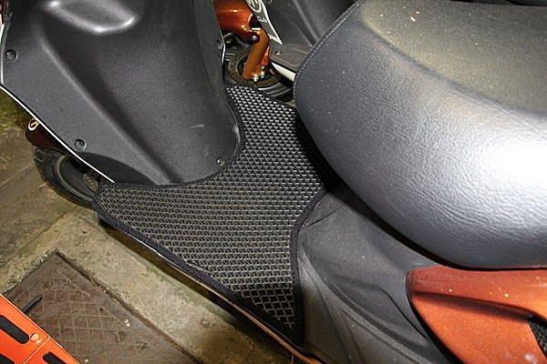 MILK71322目光踏墊止滑減震機車腳踏墊精品-CPi捷穎/亞拉岡125*ARAGON125