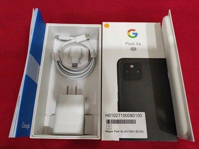 聯翔通訊 台哥大保固2021/12/14 黑色 Google Pixel 4a 5G手機 原廠盒裝※換機優先