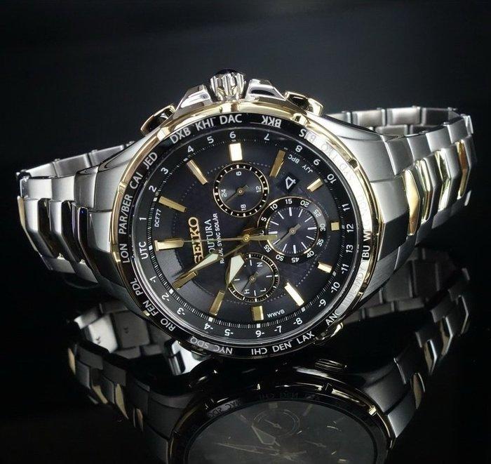 超便宜全新SEIKO精工旗艦太陽能全球5局電波時計稀有款電波錶全鋼萬年曆潛水表軍錶CITIZEN星辰ORIS卡西歐