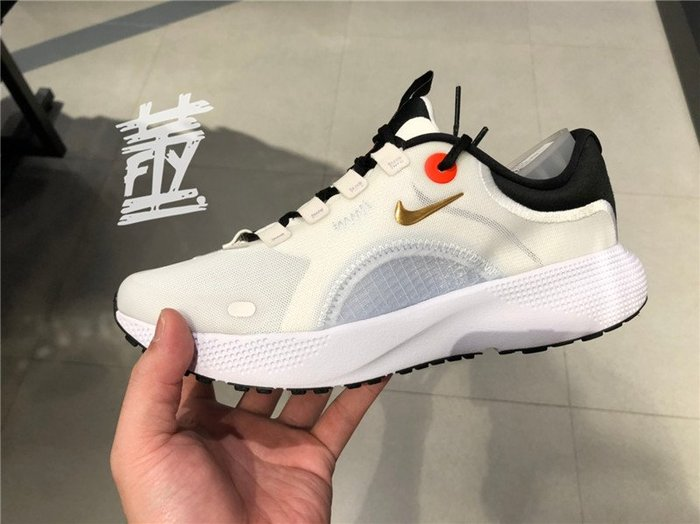 [飛董] Nike React Escape Run 慢跑鞋 女鞋 CV3817 001 白黑