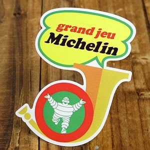 (I LOVE樂多)日本進口 MICHELIN Michelin grand jeu 米其林 貼紙數量極少千萬不能錯過歐