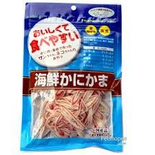 【日本藍】asuku 海鮮蟹肉絲 60g 犬零食 貓零食 新北市