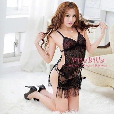【伊莉婷】VitaBilla 不敗的戀人 睡裙+小褲 二件組  H005910718