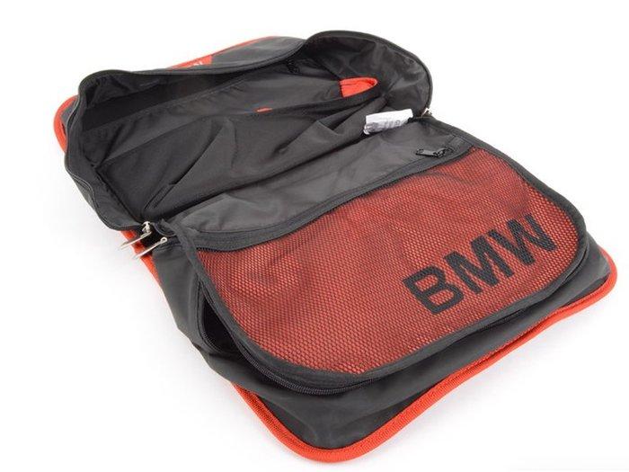 【樂駒】BMW 原廠 全車系 共用 車用 車內 椅背袋 置物袋 收納 空間 紅邊 Sport Line 雜物