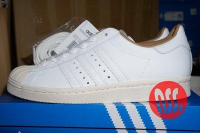 特價「NSS』Adidas SuperStar 80s Edifice 奶油頭 CG3603 US5 US5.5 US7