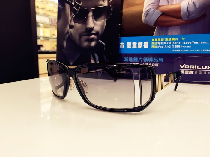 精光堂眼鏡 CAZAL德國手工框 漸層太陽眼鏡 不隨潮流的設計 有不一樣的獨特
