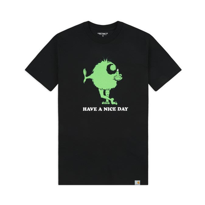 【Shopa】預購 Carhartt WIP 2019 秋冬 Nice Day 毛怪獸 Logo 短袖 T恤