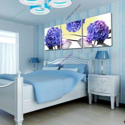 【50*50cm】【厚2.5cm】藍色妖姬-無框畫裝飾畫版畫客廳簡約家居餐廳臥室牆壁【280101_063】(1套價格)