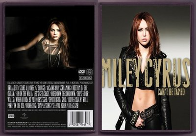 音樂居士#Miley Cyrus - Can't Be Tamed 倫敦演唱會 () DVD