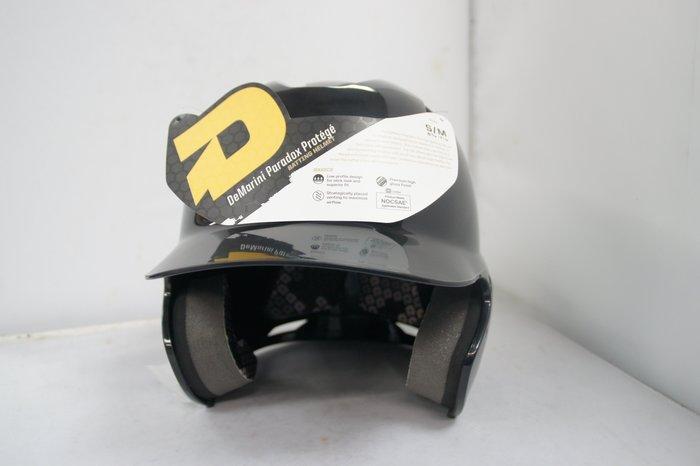 《星野球》DEMARINI PATADOX PROTEGE 棒壘球打擊頭盔 S-M  小尺寸,幼兒少棒 社區少棒適合