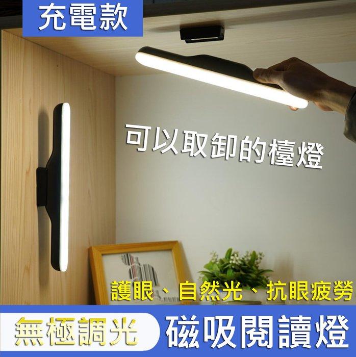 【台灣發貨】磁吸閱讀燈 床頭燈 衣櫥燈 USB小夜燈 讀書燈 書燈 桌燈 檯燈  酷斃燈 宿舍燈