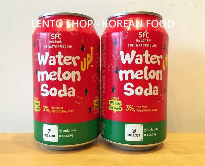 LENTO SHOP - 韓國 SFC Sangil 西瓜蘇打 西瓜汽水 Soda  350ml/罐