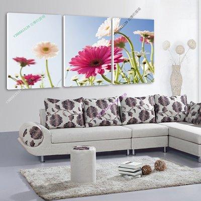 【50*50cm】【厚1.2cm】幸福花-無框畫裝飾畫版畫客廳簡約家居餐廳臥室牆壁【280101_101】(1套價格)