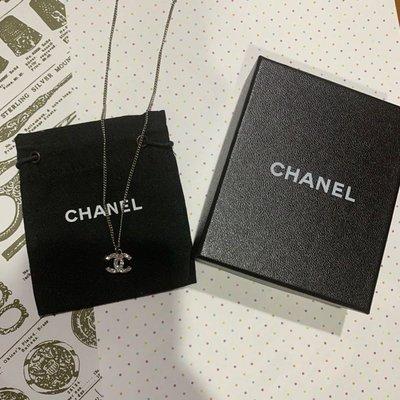 售出)Chanel 香奈兒 經典款項鍊 基本款logo 短鍊
