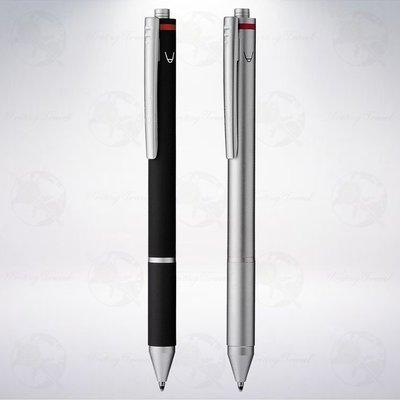 德國 紅環 rOtring 3-in-1 Trio-Pen 複合型筆記具 (黑/紅原子筆&自動鉛筆)