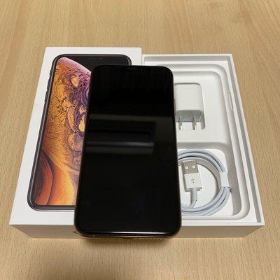 全新iPhoneXS 256G 金色 台灣公司貨